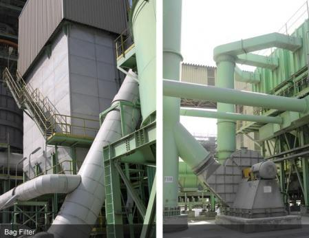 粉粒體輸送,BULK SOLID HANDLING,飛灰固化,FLY ASH SOLIDIFICATION-Dust Collecting-Bag Filter